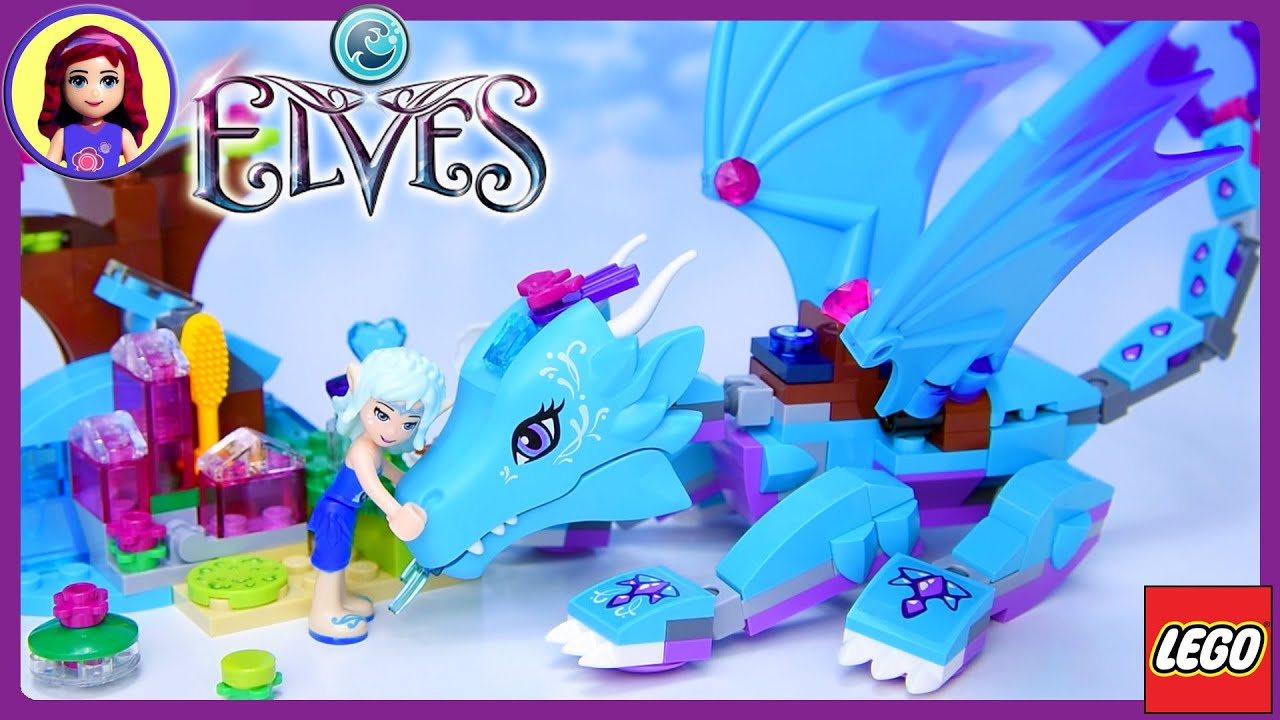 LEGO Elves The Water Dragon Adventure Build Review Play Kids