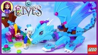 LEGO Elves The Water Dragon Adventure Build Review Play - Kids Toys
