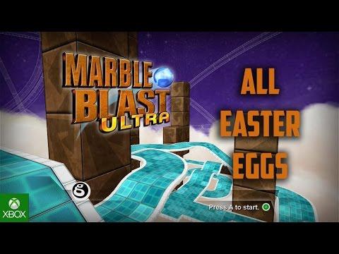 Marble Blast Ultra: All Easter Eggs HD