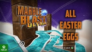 Marble Blast Ultra: All Easter Eggs HD