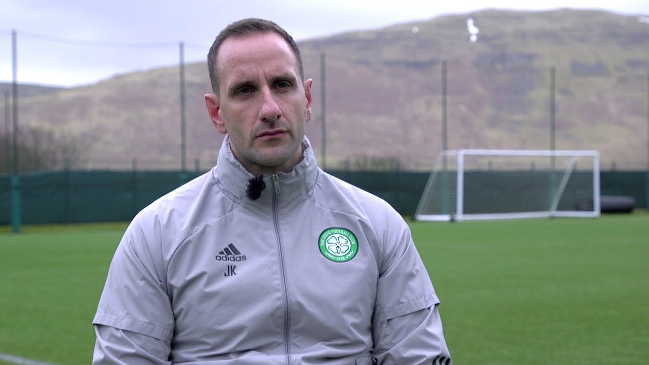 John Kennedy's exclusive interview with Celtic TV