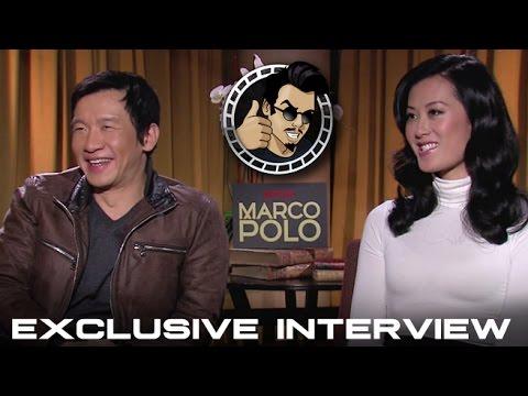 Chin Han and Olivia Cheng   Netflix's Marco Polo HD 2014
