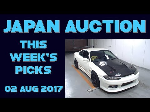 Japan Weekly Auto Auction PIcks 032 - 02 Aug 17