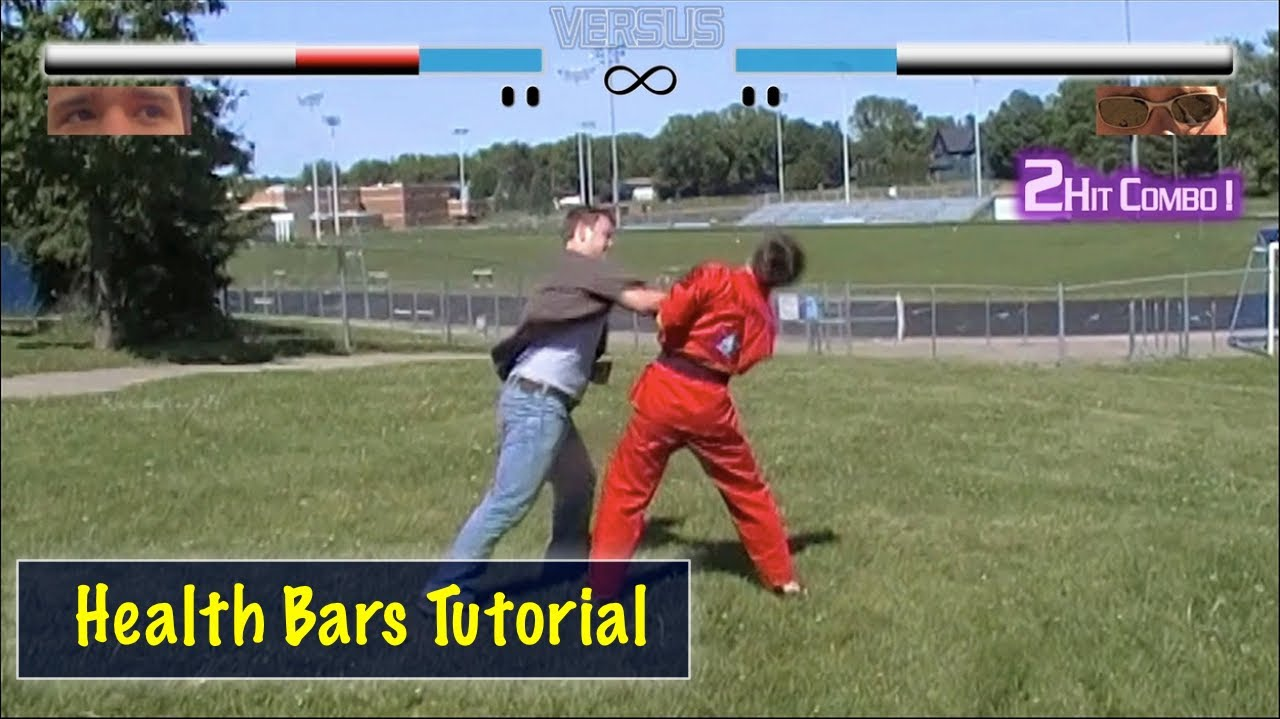 Videogame Health Bars Tutorial Free Animations