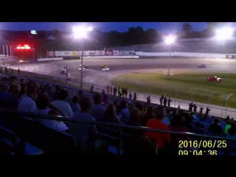 Lebanon I 44 Speedway Chargers feature  6 25 16