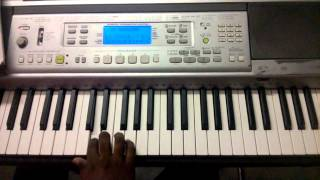 Aaa Aleluiah - Tamil Christian church song keyboard notes