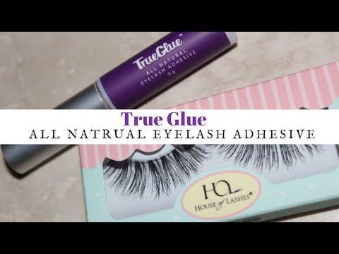 ac0501cbac3 True Glue All Natural Eyelash Adhesive (Vegan) #vegan #trueglue - YouTube