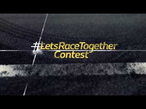 Renault Sport F1 Formula One Team: Lets Race Together Contest