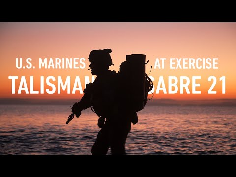 Marines Complete Exercise Talisman Sabre 21