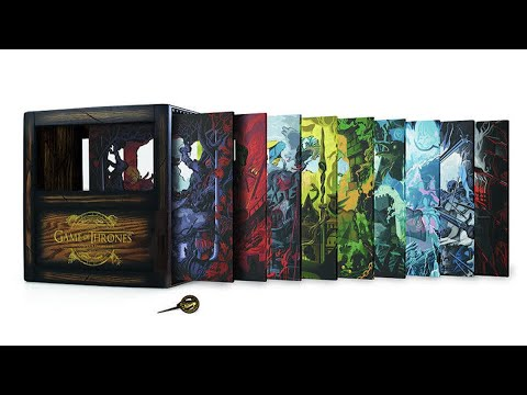 GAME OF THRONES SHADOW COMPLETE SERIES BOXSET REVIEW BY CHRISBLU007
