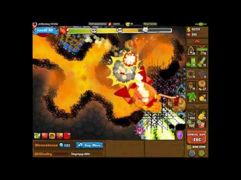 Bloons Monkey City - Blastapopoulos Sarcophagus + Level 30
