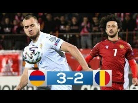 Armenia - România 3-2 | Rezumat Complet | Preliminarii CM 2022