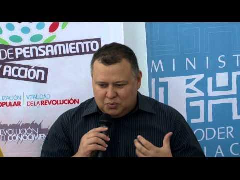 Reinaldo Iturriza, Ministro. Foro Permanente de Pensamiento y Acción