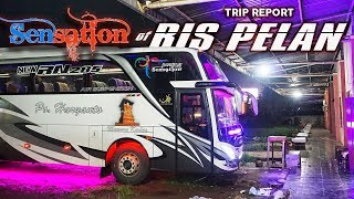 "Trip Report Naik Bis ""PELAN"" nya Po Haryanto - HR 23 Sensation Style -"