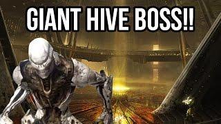 Destiny - giant hive boss!! - gameplay walkthrough part 7 (ps4/xb1 1080p hd)