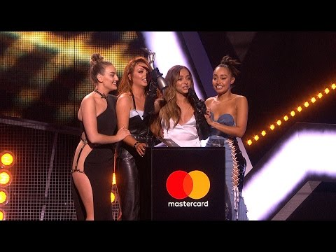 'Shout Out To My Ex' by Little Mix wins British Single | The BRITs 2017