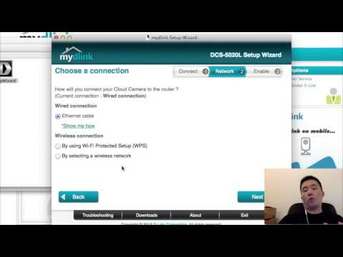 How to Setup D-Link DCS 5020L Wireless IP Camera