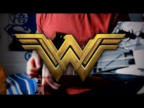 Wonder Woman Theme (Batman v Superman) on Guitar + TAB