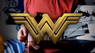 Wonder Woman Theme (Batman v Superman) on Guitar TAB