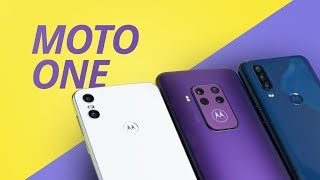 Moto One Zoom vs One Action vs Motorola One [Comparativo]
