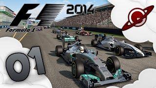 F1 2014 |  Carrière Coop #1: Grand Prix d