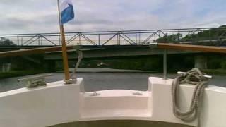 Minikamera MDV 100 - Auf der Donau zu Tal zur Schleuse und Sportbootschleuse Regensburg