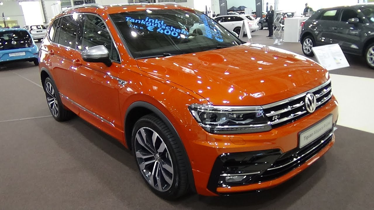 2018 volkswagen tiguan allspace highline 2 0 tdi. Black Bedroom Furniture Sets. Home Design Ideas