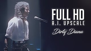 [1080p Upscale] Michael Jackson - Dirty Diana | Official Music Video