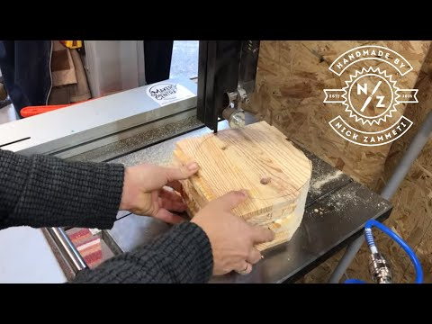 Woodturning - A pallet wood bowl