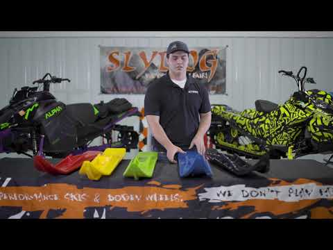High Performance Aftermarket Snowmobile Ski Overview | Slydog Skis