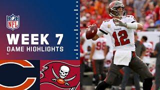 Bears vs. Buccaneers Week 7 Highlights | NFL 2021