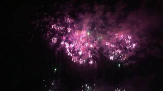 ** HD ** Japanese Fireworks : Fireworks Festival of New Year @ Twin Ring Motegi ( 2nd part )