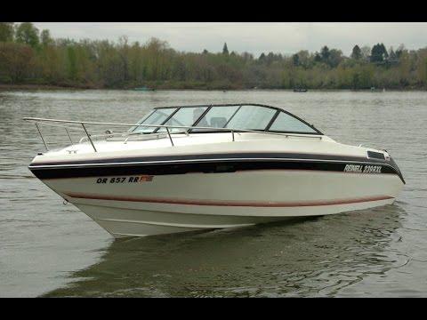 23 Reinell 239 Cuddy Cabin Boat Youtube