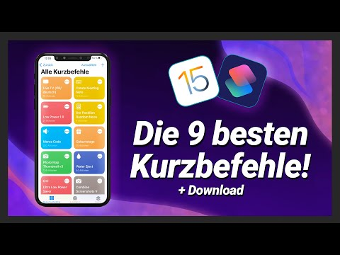 Die 9 besten Kurzbefehle / Shortcuts für dein iPhone! (+Download) iOS14 2021