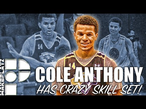Cole Anthony Shows Off Crazy Skill Set at NBPA Top 100! Full Week Highlights!