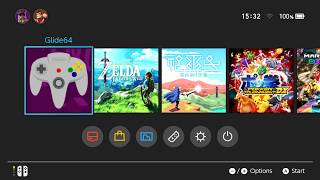 Nintendo Switch | Glide64 - Nintendo 64 emulator (Retronx)