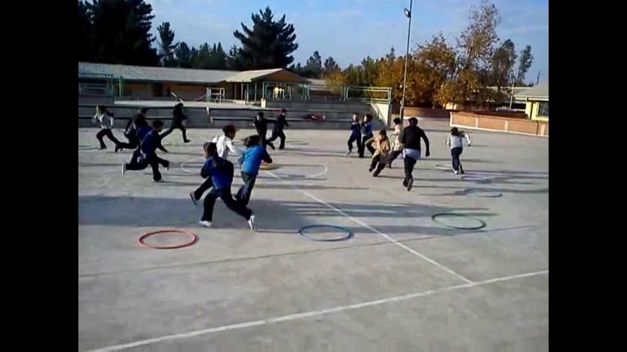 Juegos Educación Física  Cambios De Lugar Youtube