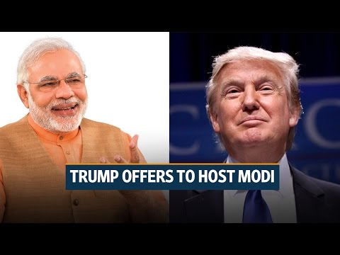 Donald Trump offers to host Narendra Modi at White House later this year