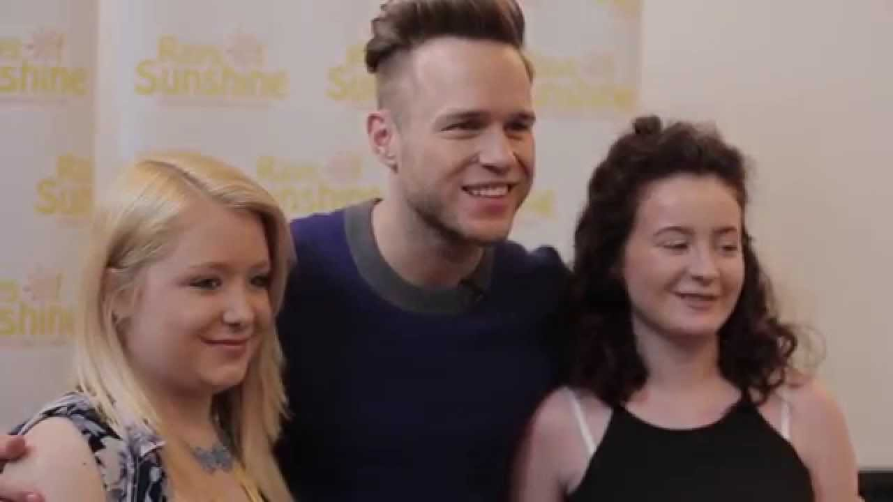 Olly murs is a ray of sunshine for seriously ill fans youtube m4hsunfo