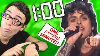 What Green Day COULD Have Done With 1 Minute!
