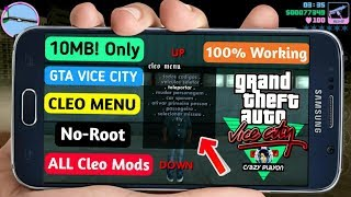 [No-Root] How To Install Advance Cleo Mod Cheats In Gta Vice City Android