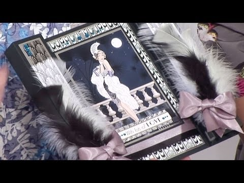 Making an Art Deco Colonnade Card | docrafts Creativity TV