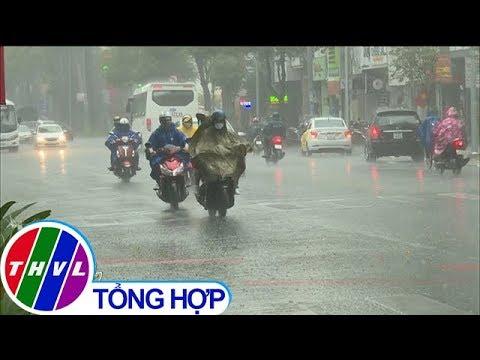 """THVL   Mưa lớn """"tắm mát"""" Thành phố Hồ Chí Minh"""