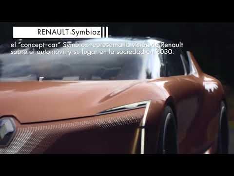 Salón de Frankfurt 2017  Renault Symbioz - Información
