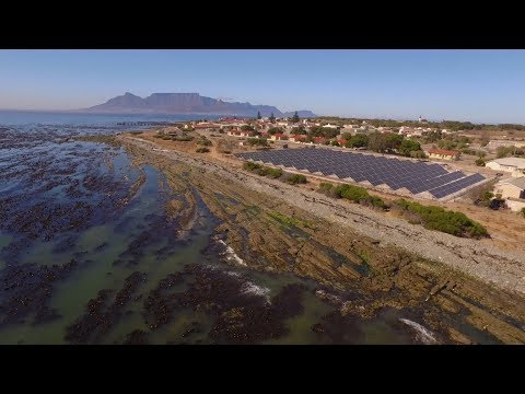 Robben Island connects microgrid for sustainable energy