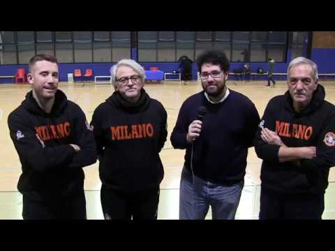 Intervista post-gara Il Ponte Casa D'Aste Tramo Sanga Milano-Selargius 20-1-2018