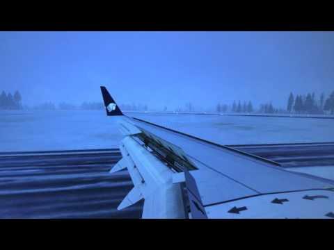 Landing in Quebec Canada