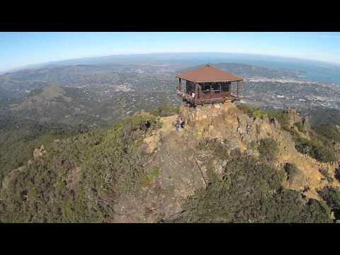 Aerial view of Mount Tamalpais Marin County