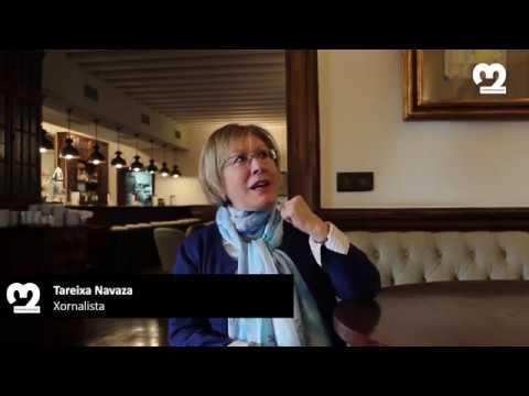 Conversa sobre O Diario Galego con Tareixa Navaza