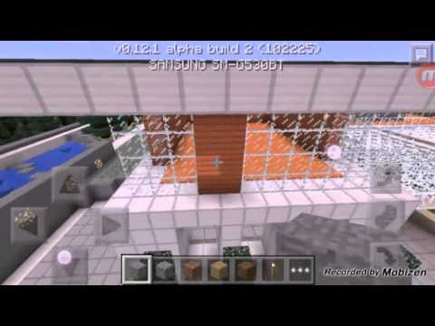 top 5 casas modernas minecraft pe youtube